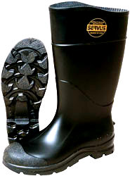 Servus Black Safety Toe Knee Boots Durable Quality