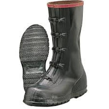 Rubber 13 Inch 5 Buckle Slush Boots Durable Quality