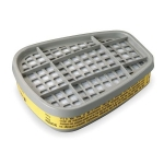 3M 6003 Organic Vapor Cartridge, Yellow, 2 pack