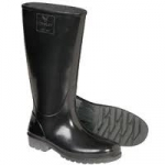 TINGLEY BLACK WOMENS FIT PVC BOOTS