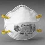 3M 8210 N95 Disposable Particulate Respirator – Standard Size, 20/Box