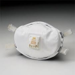 3M 8233 N100 Disposable Particulate Respirator with Exhalation Valve