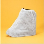 WHITE POLYPROPYLENE DISPOSABLE BOOT COVERS  (200 cs)