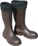 "BILLY BOOTS CRUISER 16"" EVA INSULATED BROWN SAFETY TOE BOOTS"