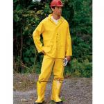 Pro-Safety Economy 3-Piece 35mm Yellow Rain Suit