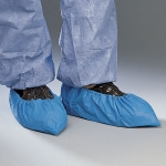 POLYETHYLENE WATERPROOF NON SLIP DISPOSABLE SHOE COVERS